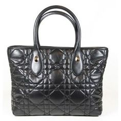 DIOR Large Black Lamb Leather  1 15c68bd8f4ce