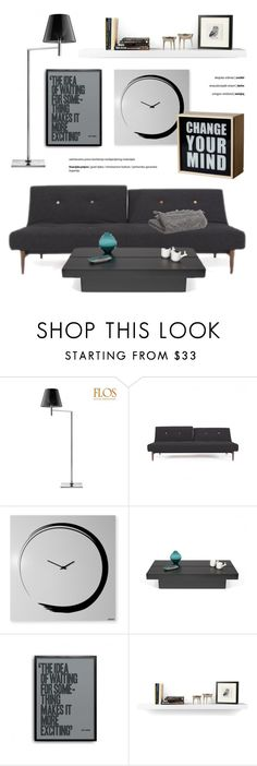 """""""Modern & Fun Living Room"""" by lovethesign-eu ❤ liked on Polyvore featuring interior, interiors, interior design, home, home decor, interior decorating, Da Terra, TemaHome, Andy Warhol and Seletti"""