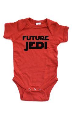 Future Jedi Onesie #starwars