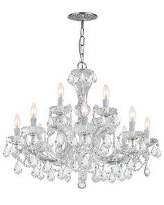 Maria+Theresa+12-Light+Chandelier+at+Neiman+Marcus.