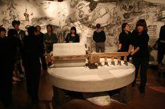 Qiu Zhijie, 'Colourful Lantern at the Shanghai Biennale', installation, 2010. Image courtesy of Rachel Marsden and Richard Warren.