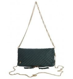 clutch for woman rock tresse green-Zadig&Voltaire