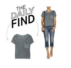 """Daily Find: Tyler Jacobs Jersey T-Shirt"" by polyvore-editorial ❤ liked on Polyvore featuring DailyFind"