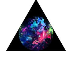 Triangle Art by RighteousOnix