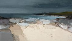 April Rain, High Water, Saligo Bay by Chris Bushe