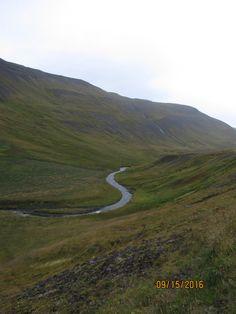 Islande: route 590 depuis Gilsfjordur à Kollafjordur