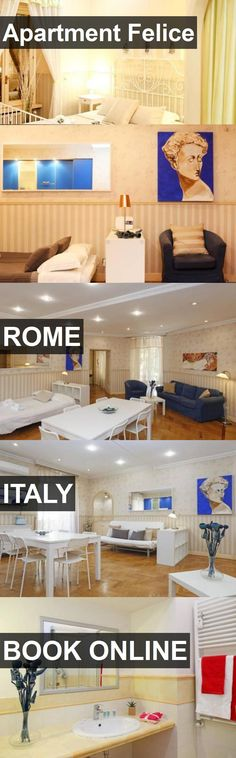 Hotel Apartment Felice in Rome, Italy. For more information, photos, reviews and best prices please follow the link. #Italy #Rome #ApartmentFelice #hotel #travel #vacation