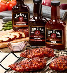 Jim Beam BBQ Bliss Deluxe Grilling Kit