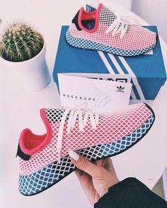 adidas Deerupt – der neue adidas Sneaker für Frauen und Männer. Coole Farbe! Foto: https://www.instagram.com/blancactus/