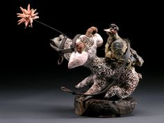 Shanna Fliegel... so intricate and incredible! I wish I could meet her! This is all I want my work to be.   http://artaxis.org/ceramics/fliegel_shanna/shanna_fliegel.html