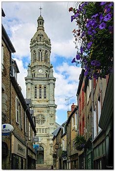 église Saint Gervais. Avranches. Basse Normandie