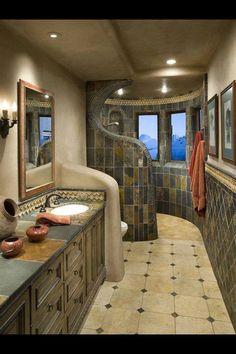 Ideal Bathroom rustico