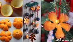 Christmas decorations from dried orange peel Fall Crafts, Holiday Crafts, Holiday Fun, Crafts For Kids, Holiday Decor, Noel Christmas, All Things Christmas, Winter Christmas, Christmas Ornaments