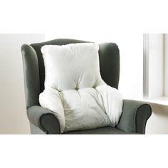 Symple Stuff Rückenpolsterung Fleece All Season Back Support Pillow, Support Pillows, Back Pillow, Cushion Pads, Cushion Covers, Wingback Chair, Armchair, Wooden Garden Chairs, Chair Backs