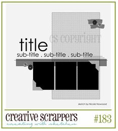SKETCH 183 creative scrappers
