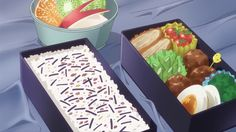 Image about anime in Plastic Memories by ❀ 𝑳𝒂𝒌𝒊 ❀ Plastic Memories, Food Drawing, Grubs, Food Illustrations, Japanese Food, Bento, Picnic, Favorite Recipes, Dishes