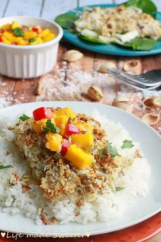 Coconut pistachio crusted tilapia - Life made Sweeter6.jpg
