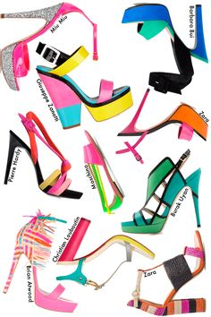 The Shoe Hunter » 10 Sandalias de colores