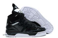 Adidas Original X Jeremy Scott Big Tongue Velvet Shoes Black For Sale