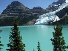 Berg Lake and Glacier - Mt Robson / Berg lake Trail
