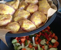 Rezept Hähnchenbrustfilet m. Reis & Gemüse von Dree81 - Rezept der Kategorie Hauptgerichte mit Fleisch