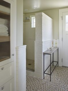 Koch Architects, Inc. Tiny House, Home, Home Reno, Small Bathroom, Cottage, Backyard Cottage, Guest House, Dormers, Bathroom Lighting