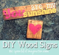 You Are My Sunshine Wood Sign by Spoonful of Imagination