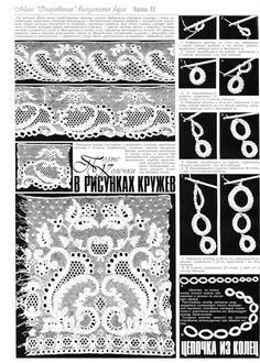 Irish lace drawings hollow curls - Crochet fun - fun blog crocheted