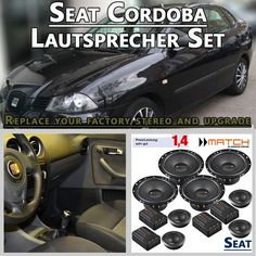 Seat Cordoba 6L Auto Lautsprecher Set mit 4 Hochtöner ist für den Austausch der Werkslautsprecher in den Türen für Seat Cordoba 6L: 2002–2008 http://radio-adapter.eu/produkt/seat-cordoba-6l-auto-lautsprecher-set-mit-4-hochtoener/ ist für die viertürige Stufenhecklimousine geeignet. #Seat #Cordoba #Seatcordoba #Autoboxen #Seatlautsprecher #Seatsoundsystem