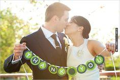 thank you wedding sign | VIA #WEDDINGPINS.NET