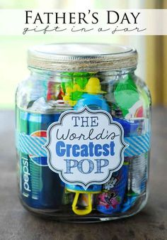 Cute idea for father's day. My dad would love this!: