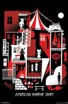 A bold pop art look makes the Trends International American Horror Story Graphic Poster a perfect choice for any AHS fan. This officially-licensed American. Ahs, Poster Wall, Poster Prints, Lino Prints, Block Prints, American Horror Story Series, Horror Posters, Film Posters, My Sun And Stars