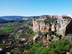 One of our interns visit at Ronda.