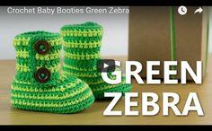 Green Zebra by Croby Patterns