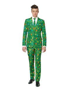 Suitmeister™ Christmas garland costume for men