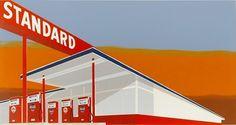 "A classic: Ed Ruscha's ""Standard Station"""