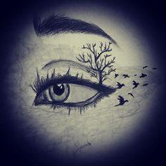 #karakalem #amatör #çizim #pencil #drawing #sketch #eyes #art #jj #like #photo #statigram #insta #sanat #twegram #nice #like4likes #like4like #amazing #göz #kara #best