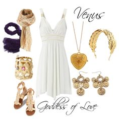 Halloween Costume - Venus, Goddess of Love Greek God Costume, Greek Goddess Costume, Egyptian Costume, Greek Mythology Costumes, Cute Summer Outfits, Cute Outfits, Toga Costume, Goddess Of Love, Fandom Outfits