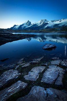 Le lac noir face à la Meije - Plateau d'Emparis by Patrice MESTARI, via 500px