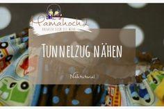 Anleitung Nähtutorial Tunnelzug nähen