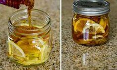 Receita caseira para gripe e dor de garganta: xarope de limão e gengibre | Cura pela Natureza