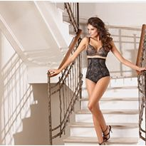 """The ultra-feminine seductiveness shapewear: """"Shape Me"""". Book your appointment with Antinea at CURVENY New York www.curvexpo.com/new-york/brand/antinea and CURVENV Las Vegas www.curvexpo.com/las-vegas/brand/antinea"""