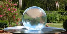 "Sphere Water fountain  ""Aqualens"""
