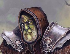 """@Behance projeme göz atın: """"orc wizard"""" https://www.behance.net/gallery/57462537/orc-wizard"""