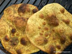Stare Gary: Płaski chleb z za'atarem - czyli libański Manoush