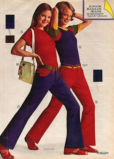 1972 jeans ad I had these jeans!