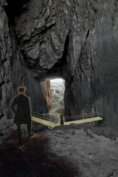 Torghatten Footbridge - Carl-Viggo Hølmebakk AS