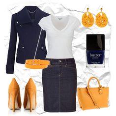 LOLO Moda: See more #trendy #styles on: http://lolomoda.com/summer-midi-skirts-for-women/