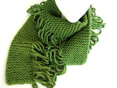 Scarf with Loops Gone Wild FREE US Shipping by AllAboutTheButtons