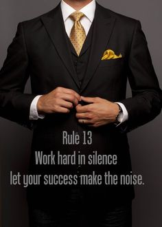 People will see what you are doing without you saying a word. Let your clients do all of the talking:)
